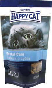 Лакомство для кошек Happy Cat, укрепление зубов и десен, 50 г0120710Лакомство для кошек Happy Cat - это печенье для профилактики зубного камня с чистящим эффектом. Специальная форма и фактура печенья обеспечивает укрепление зубов и десен.Состав: злаки, мясо и животные продукты, рыба, масла и жиры, минеральные вещества, яйца, дрожжи.Анализ: протеин 28%, жир 14%, клетчатка 1%, зола 7,5.Добавки на кг: витамин А: 12 000; витамин D3: 840; витамин Е: 120 мг/кг.Товар сертифицирован.