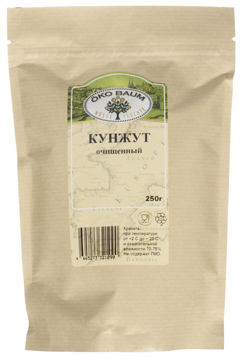 Oko Baum кунжут очищенный, 250 г0120710Кунжут, второе название которого сезам, пришел к нам из глубокой древности. Тогда это семя фигурировало во многих таинственных легендах и преданиях. По сей день кунжут активно используют, так как известно, сколько полезных свойств заключает в себе семя кунжута. В нем содержится большое количество масла, состоящего из кислот органического происхождения, насыщенных и полиненасыщенных жирных кислот, триглицеридов и глицериновых эфиров.В кунжуте также содержится вещество, которое называют сезамин. Это мощный антиоксидант, который полезен для профилактики многих заболеваний, в том числе раковых, и снижает уровень холестерина в крови, чем приносит огромную пользу организму человека. Кунжут Oko Baum богат кальцием, фосфором, железом, калим, магнием и прочими минеральными соединениями. Он улучшает состояние ногтей, волос человека и положительно влияет на состав человеческой крови.