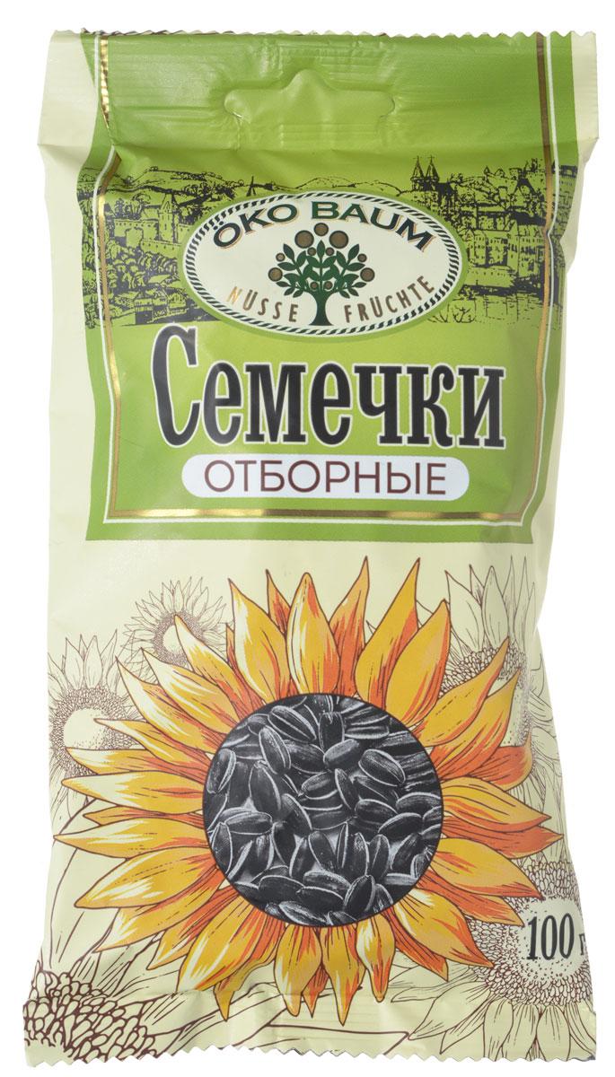 Oko Baum семечки жареные отборные, 100 г0120710Семена подсолнуха – это удивительный продукт. Биологическая ценность семечек выше, чем ценность яиц или мяса, а вот перевариваются и усваиваются они гораздо легче.Витамина D в них больше, чем в жире печени трески, который всегда считался самым богатым его источником; вещества, содержащиеся в семечках, улучшают состояние кожи и слизистых оболочек, приводят в норму их кислотно-щелочной баланс. Именно поэтому семена подсолнуха часто применяются в косметологии. Зная о полезных свойствах семечек подсолнуха, не стоит думать, что это баловство или развлечение. Специалисты и диетологи, сторонники здорового образа жизни, часто рекомендуют употреблять семечки для профилактики самых разных заболеваний, и даже в качестве лечебного средства.