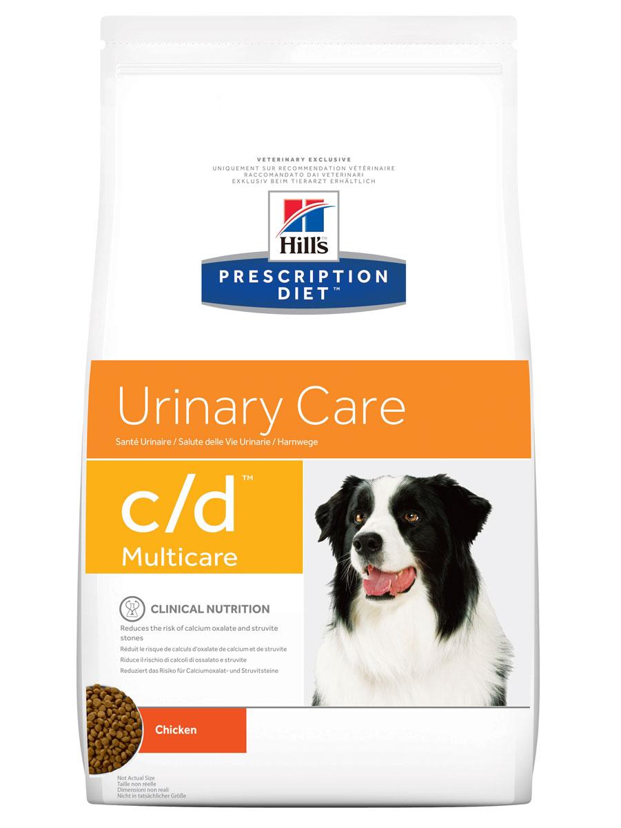 Корм сухой диетический Hills C/D для собак, профилактика МКБ и струвитов, 12 кг. 2479524795_дизайн 2
