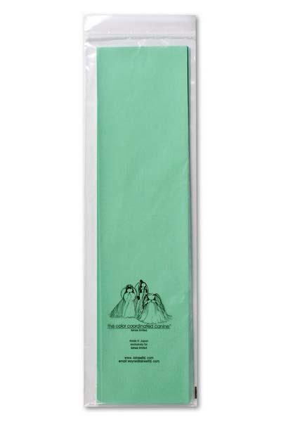 Бумага натуральная Lainee, цвет: мятный, 100 листов0120710Бумага Lainee натуральная рисовая бумага высшего качества. Очень тонкая и прочная.Прекрасно подходит для накручивания папильоток на корпусе и на голове собаки. С помощью папильоток осуществляется защита длинного остевого волоса от сечения и механического повреждения у длиношерстных декоративных пород собак. Размер листа 39 х 10 см, в упаковке 100 листов.