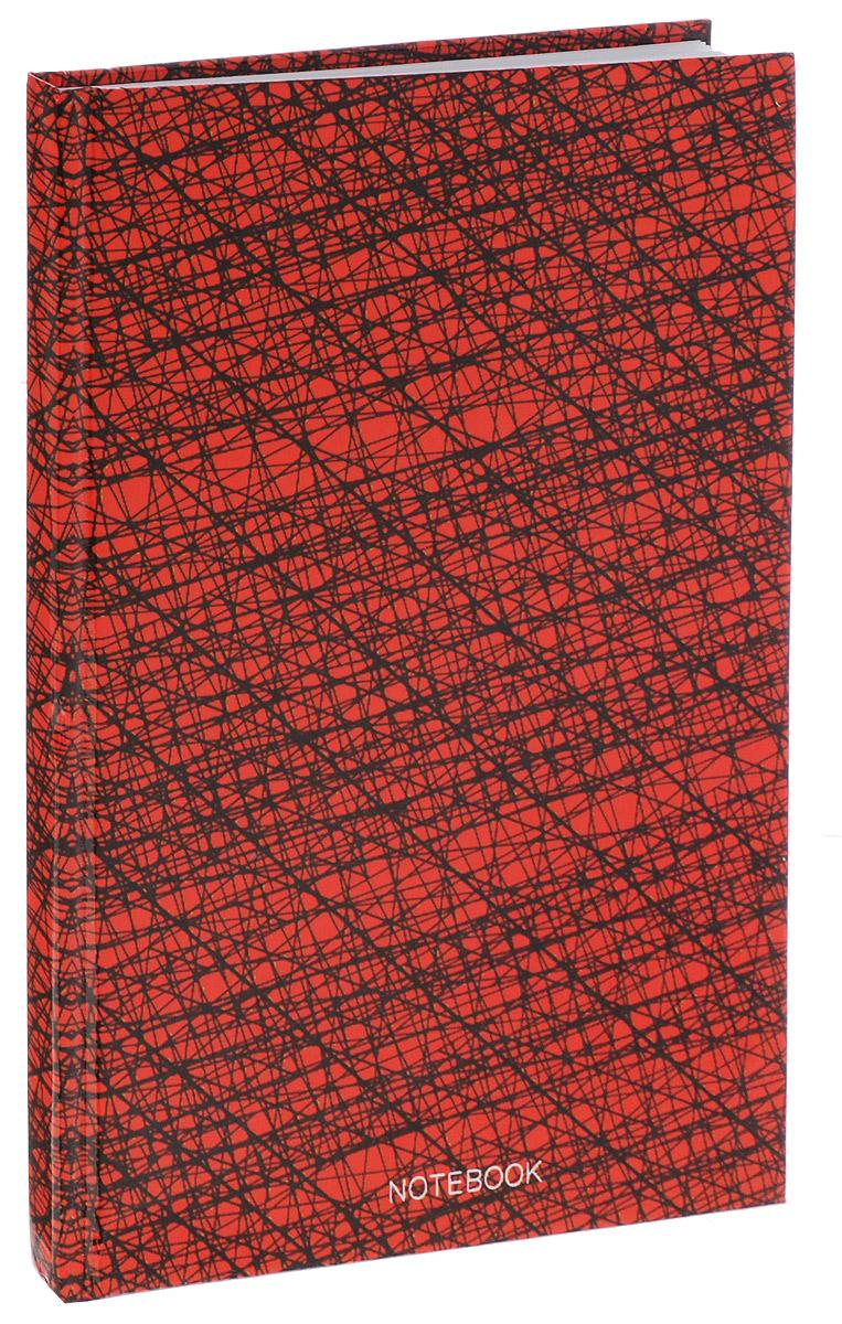 Listoff Записная книжка Офисный стиль 80 листов в клетку цвет красный72523WDЗаписная книжка Listoff Офисный стиль - незаменимый атрибут современного человека, необходимый для рабочих и повседневных записей в офисе и дома. Записная книжка содержит 80 листов формата А5 в клетку без полей. Обложка выполнена из ламинированного картона. Внутренний блок изготовлен из высококачественной плотной бумаги, что гарантирует чистоту записей и отсутствие клякс. Книга для записей Listoff Офисный стиль станет достойным аксессуаром среди ваших канцелярских принадлежностей. Она подойдет как для деловых людей, так и для любителей записывать свои мысли, рисовать скетчи, делать наброски.