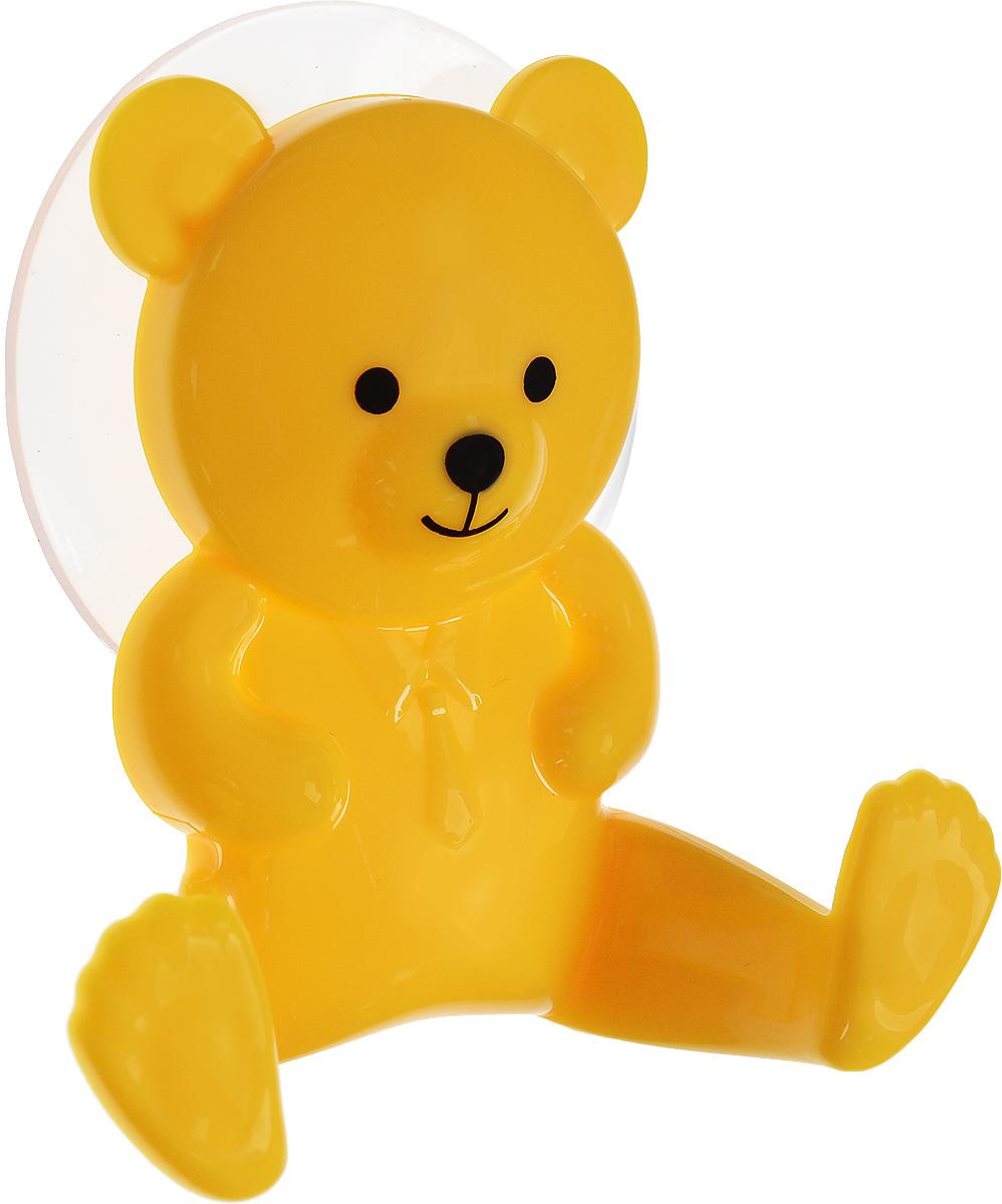 Крючок двойной Artmoon Медведь, на вакуумной присоскеS03301004Двойной крючок Artmoon Медведь выполнен из сверхпрочного пластика в виде медвежонка. Крепится на гладких воздухонепроницаемых нешероховатых поверхностях при помощи вакуумной присоски.Такой крючок прекрасно подойдет для ванной комнаты или кухни, надежно выдержав все, что вы на него повесите. Максимальный вес до 3 кг.Размер крючка: 9 х 3 х 8,5 см.