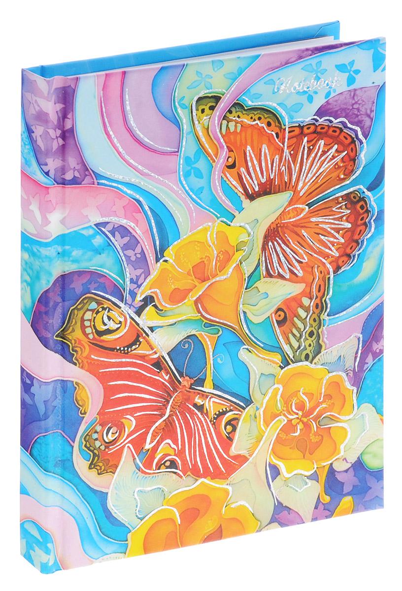 Listoff Записная книжка Великолепные бабочки 96 листов в клетку1150-140Записная книжка Listoff Великолепные бабочки - важный аксессуар современного человека, необходимый для рабочих и повседневных записей в офисе и дома. Обложка выполнена из плотного картона и оформлена изображением бабочек и цветов. Записная книжка содержит 96 листов в клетку. Первая страница предусмотрена для заполнения личных данных владельца. Записная книжка станет достойным атрибутом среди ваших канцелярских принадлежностей. Она пригодится как для деловых людей, так и для любителей записывать свои мысли, писать мемуары или делать наброски новых стихотворений.