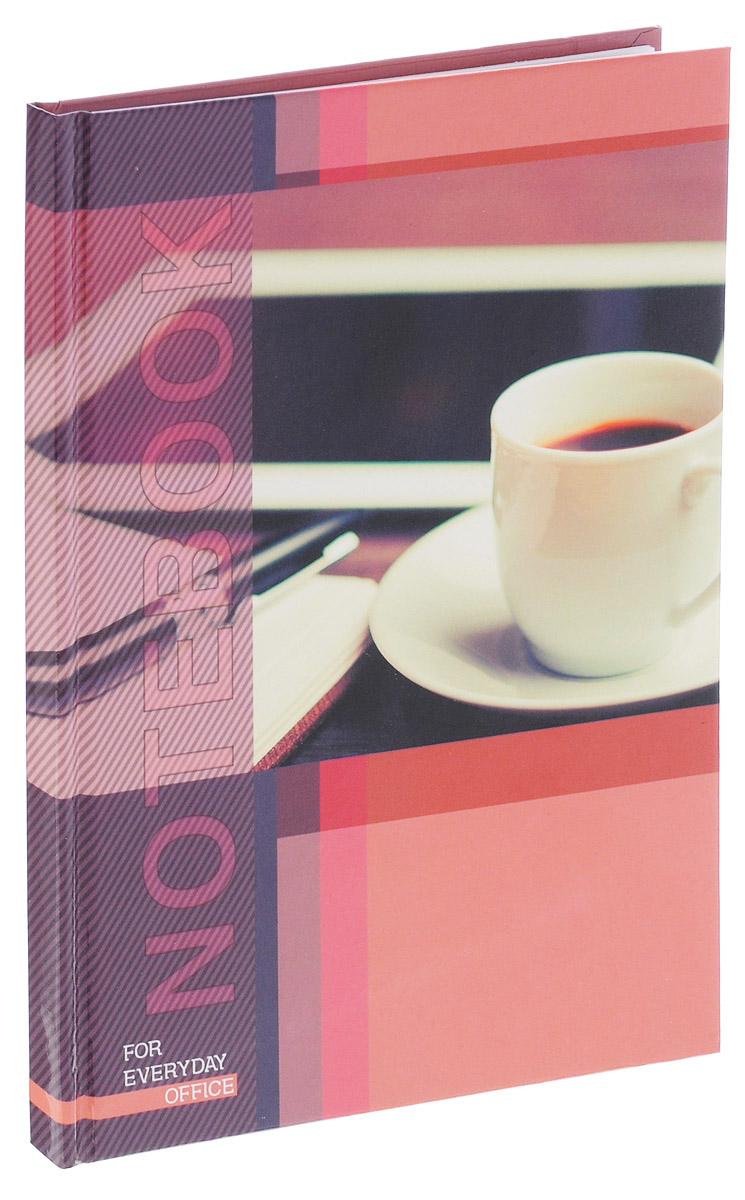Listoff Записная книжка Деловой мир 80 листов в клетку1150-400Записная книжка Listoff Деловой мир придаст вам индивидуальность и визуальную притягательность.Записные книжки призваны хранить в себе важную информацию на долгое время, поэтому нужно обязательно позаботиться, чтобы она была удобной для постоянного ношения с собой, стильной - потому что, на этот аксессуар обязательно обратят внимание окружающие.Записная книжка содержит 80 листов формата А5 в клетку без полей. Обложка, выполненная из ламинированного картона, украшена изображением чашки кофе. Внутренний блок изготовлен из высококачественной белой бумаги, что гарантирует чистоту записей и отсутствие клякс.Книга для записей Listoff Деловой мир станет достойным аксессуаром среди ваших канцелярских принадлежностей. Она подойдет как для деловых людей, так и для любителей записывать свои мысли, рисовать скетчи, делать наброски.