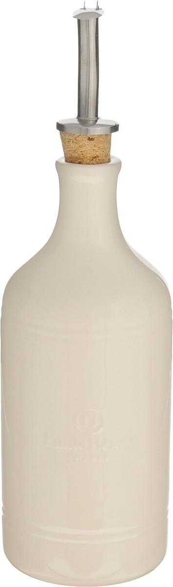 Бутылка для масла и уксуса Emile Henry, 450 млBM-06-4Бутылка Emile Henry, выполненная из керамики, предназначена для хранения масла или уксуса. Сочные краски и оригинальный дизайн этой бутылки станут ярким пятном на вашей кухонной полке. Вы нальете ровно столько масла, сколько нужно, не уронив ни одной лишней капли, ведь крышка с носиком снабжена специальным клапаном. Стенки бутылки светонепроницаемые, поэтому ее можно хранить в открытом шкафу, не волнуясь, что ваше лучшее оливковое масло потеряет вкус и аромат.Высота бутылки (с учетом крышки): 24,5 см.Диаметр основания: 7,5 см.Диаметр бутылки (по верхнему краю): 3 см.
