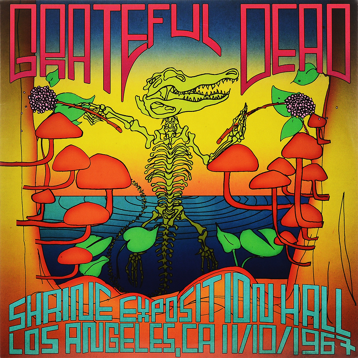 The Grateful Dead Grateful Dead. Shrine Exposition Hall, Los Angeles, CA, November 10, 1967 (3 LP) dead famous
