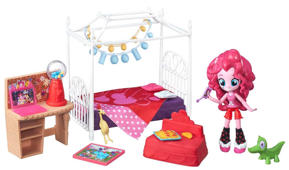 My Little Pony Игровой набор с мини-куклой Пижамная вечеринка Пинки Пай B4911 my little pony набор фигурок пижамная вечеринка у эпплджек