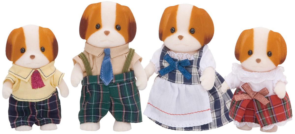 """Игровой набор """"Семья Собачек"""" состоит из четырех фигурок веселых собачек: мамы, папы, дочки и сына. Такая семья непременно понравится вашему малышу, и он сможет придумывать для них свои истории. Компания была основана в 1985 году, в Японии. """"Sylvanian Families"""" очень популярен в Европе и Азии, и, за долгие годы существования, компания смогла добиться больших успехов. 3 года подряд в Англии бренд """"Sylvanian Families"""" был признан """"Игрушкой Года"""". Сегодня у героев """"Sylvanian Families"""" есть собственное шоу, полнометражный мультфильм и сеть ресторанов, работающая по всей Японии. """"Sylvanian Families"""" - это целый мир маленьких жителей, объединенных общей легендой. Жители страны """"Sylvanian Families"""" - это кролики, белки, медведи, лисы и многие другие. У каждого из них есть дом, в котором есть все необходимое для счастливой жизни. В городе, где живут герои, есть школа, больница, рынок, пекарня, детский сад и множество других полезных объектов. Жители этой страны..."""