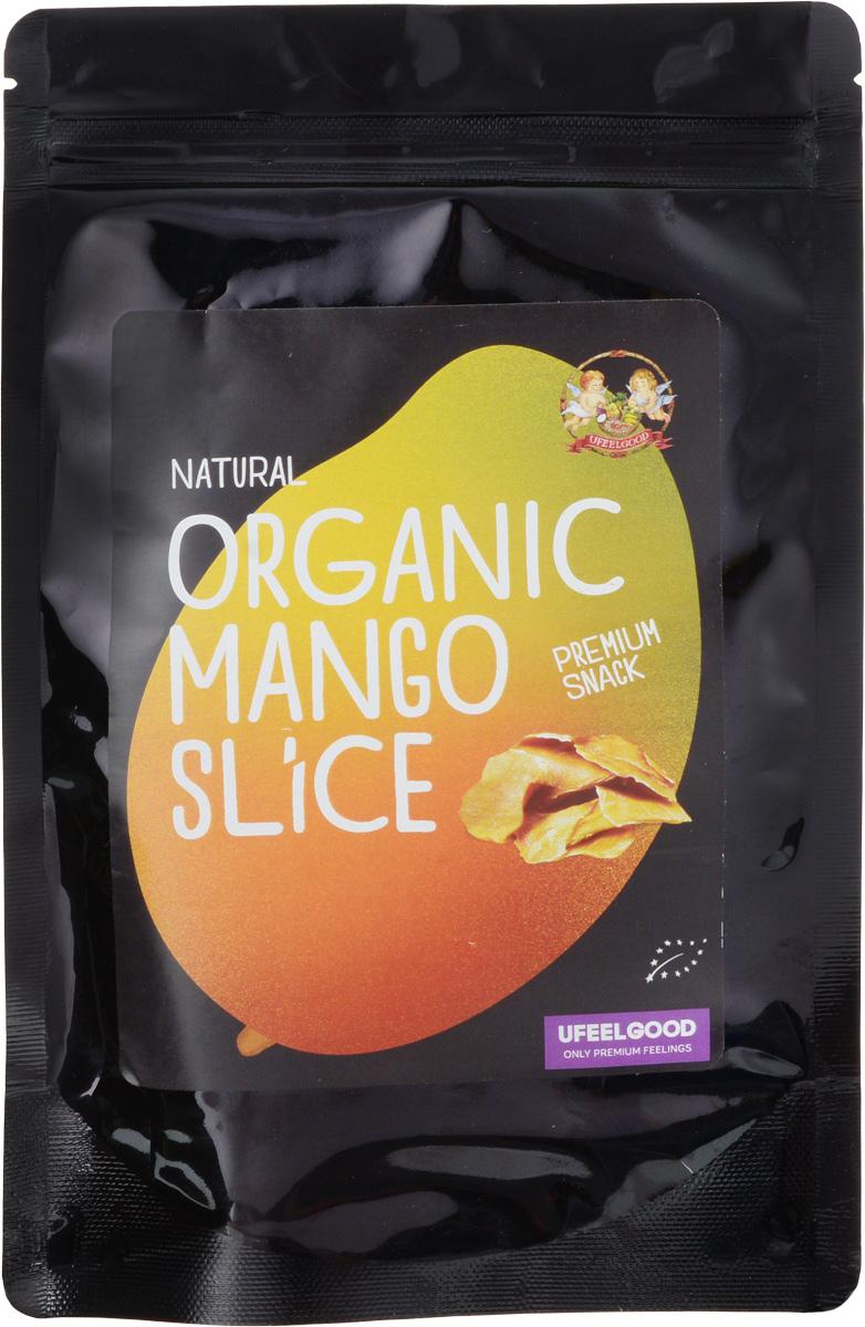 UFEELGOOD Organic Mango Slice органический вяленый манго слайсами, 100 г белый спальный гарнитур глянец