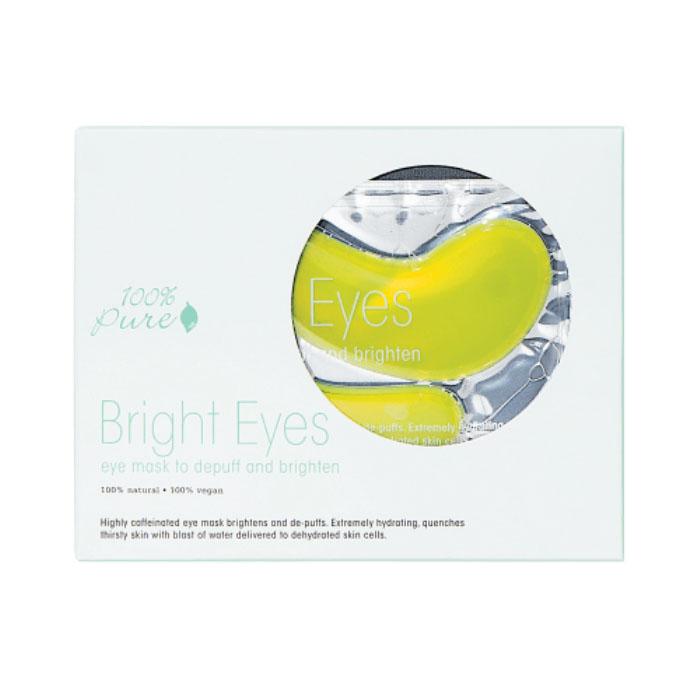 100% Pure Набор восстанавливающих масок для глаз: Сияние, 5 шт x 8 г1FEMBEB5Маска с высоким содержанием кофеина освежает область вокруг глаз, заметно уменьшая темные круги под глазами. Материал маски гидрогель состоит из 95% органического алоэ и 5% растительного комплекса для интенсивного увлажнения. Гидрогель способствует усвоению кожей активных ингредиентов. Чем дольше вы оставите маску под глазами, тем тоньше становится гидрогелевый слой- сок алоэ постепенно впитывается в кожу.