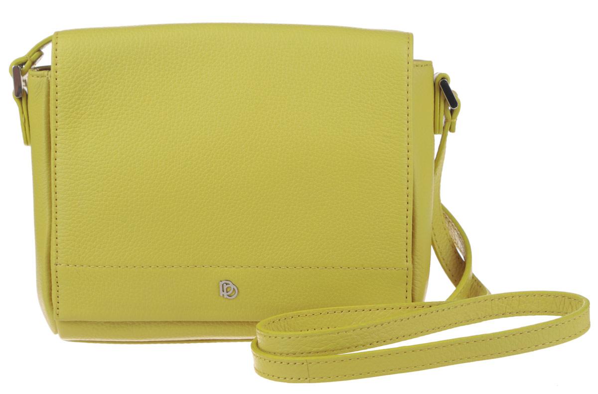 Сумка женская Pimo Betti, цвет: желтый. 14592B-W123008Стильная женская сумка Pimo Betti выполнена из натуральной кожи с зернистой фактурой, оформлена металлической фурнитурой с символикой бренда.Изделие содержит одно вместительное отделение, закрывающееся клапаном на магнитную кнопку. Внутри сумки расположены накладной кармашек для мелочей и врезной карман на застежке-молнии. Снаружи, на задней стороне сумки, расположен накладной кармашек на магнитной кнопке. Изделие оснащено практичным плечевым ремнем регулируемой длины.Оригинальный аксессуар позволит вам завершить образ и быть неотразимой.