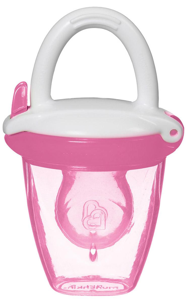 Munchkin Ниблер для детского питания от 4 месяцев цвет розовый
