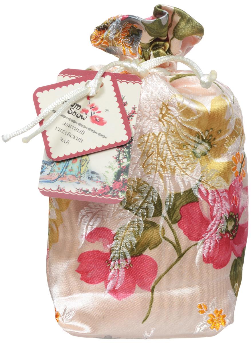 Plum Snow Молочный пуэр мини точа черный листовой чай, 100 г (шелковый мешок)0120710Plum Snow Молочный пуэр мини точа - байховый китайский крупнолистовой чай со сливками, спрессованный в форме сердечка.