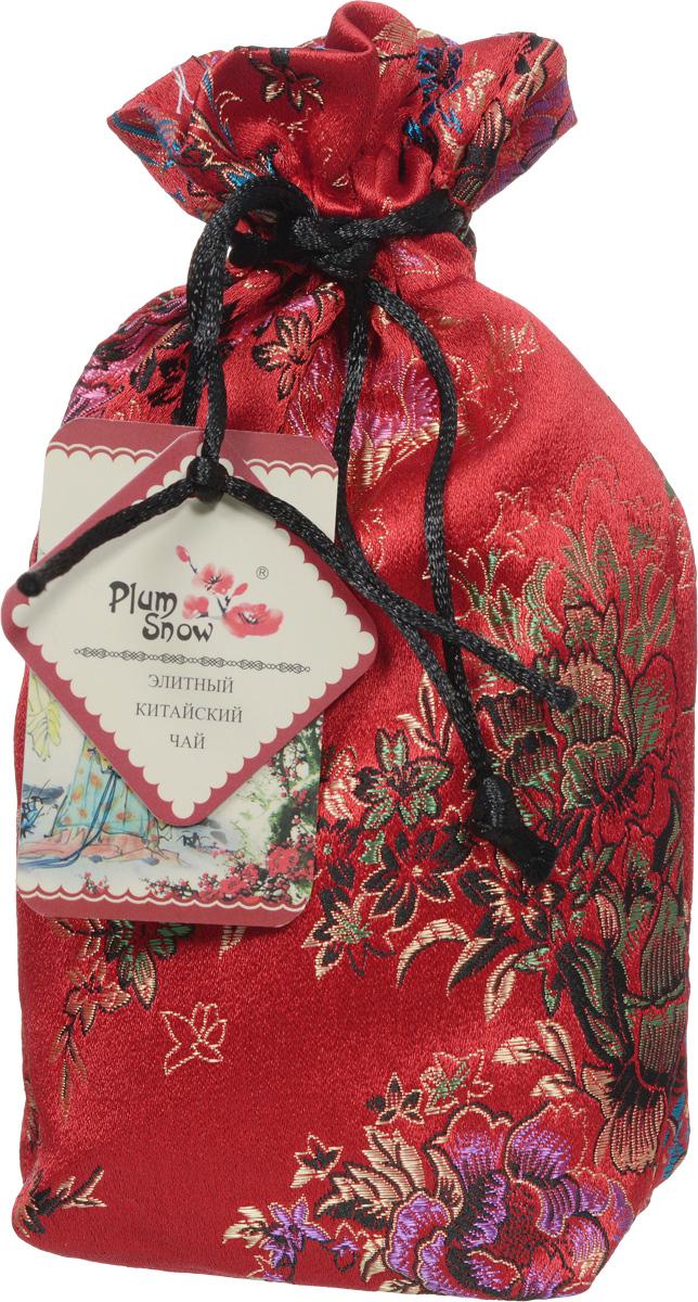 Plum Snow Кристальный Улун листовой чай, 100 г (шелковый мешок)101246Plum Snow - китайский среднелистовой улун с кусочками луковицы лилии и кристаллическими сахарами подарит истинный вкус экзотики Востока.