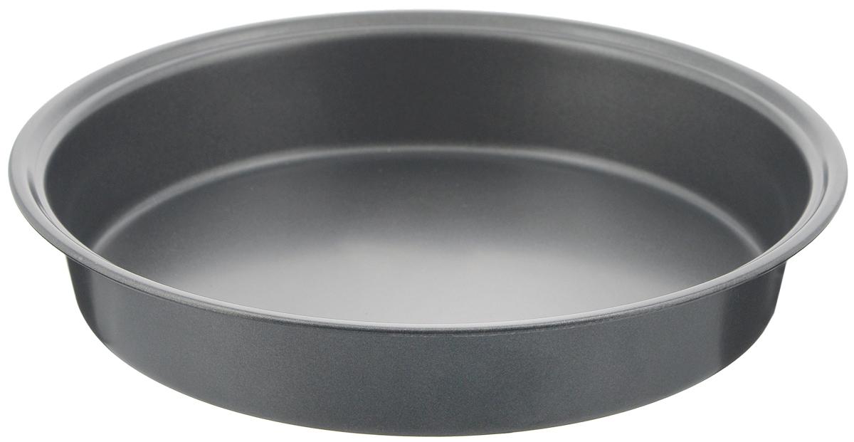 Форма для выпечки Bekker Koch, круглая, с антипригарным покрытием, диаметр 24,5 смDA080203Круглая форма для выпечки Bekker Koch изготовлена из углеродистой стали с антипригарным покрытием Goldflon. Выпечка не пригорает и не прилипает к поверхности и легко моется.Такая форма идеально подходит для приготовления различных пирогов и кексов. Можно мыть в посудомоечной машине.Диаметр (по верхнему краю): 24,5 см. Высота формы: 4,4 см.