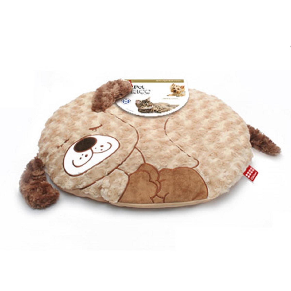 Лежанка для животных с дизайном GiGwi Собака 57 см0120710Удобная лежанка для животных с дизайном GiGwi Собака изготовлена из полиэстера. Лежанка имеет нескользящую поверхность. Идеальна для клеток, переносок, автомобилей, для полов с любым покрытием.