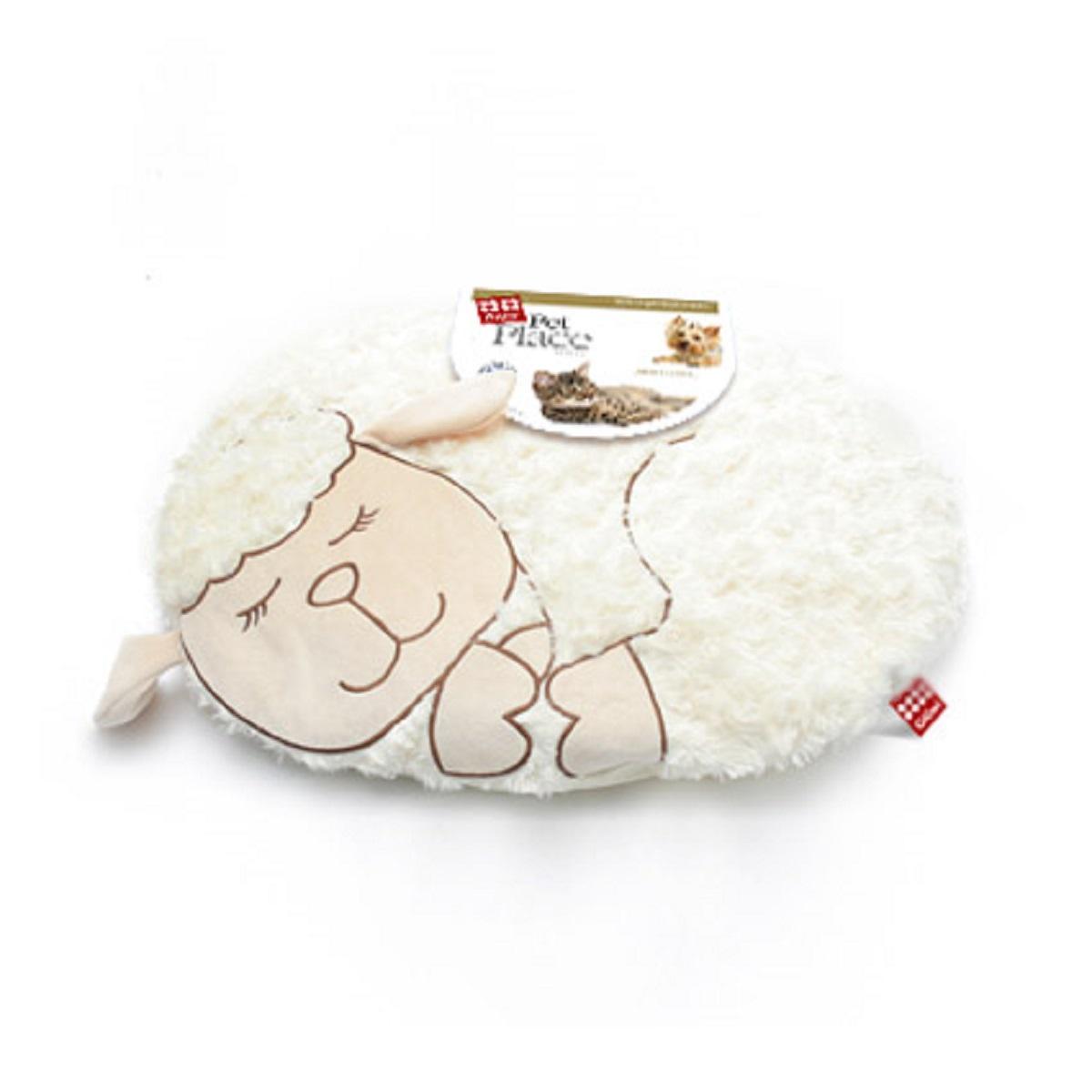 Лежанка с дизайном GiGwi Овечка 57 см0120710GiGwi Лежанка с дизайном Овечка 57 смЛежанка для небольших собак и кошек. Наполнитель полиэстер. Машинная стирка.