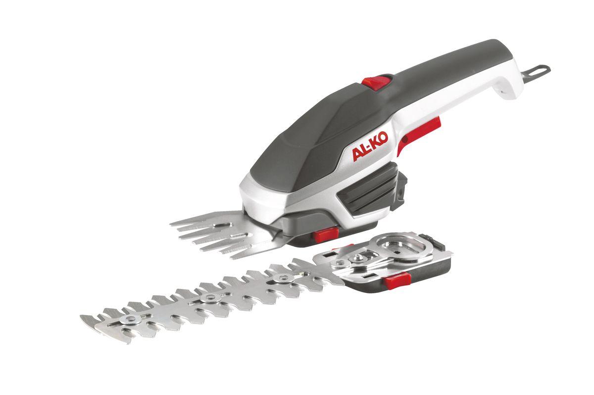 Аккумуляторные ножницы AL-KO GS 3,7 Li MULTI CUTTERC0042416В комплекте 2 насадки для травы и кустарников.Литий-Ионная батарея.