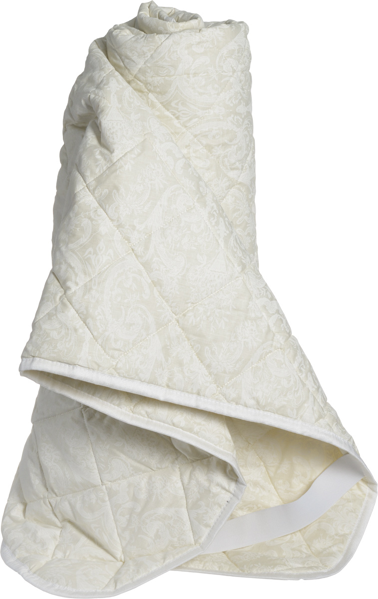 Натурес Наматрасник детский Золотой мерино 140 см х 200 см80653Наматрасник из натуральной овечьей шерсти с резинками на углах в хлопковом чехле отлично подойдет для детей от 10 лет и подростков. В качестве наполнителя используется шерсть мериносовой овцы, знаменитая своими согревающими свойствами. Благодаря высокой гигроскопичности (способности впитывать влагу), овечья шерсть обладает эффектом сухого тепла и широко применяется для профилактики простудных заболеваний. Чехол - очень красивый жаккардовый сатин золотисто-песочного цвета с белым кантом. Уход: стирка при 30° C.