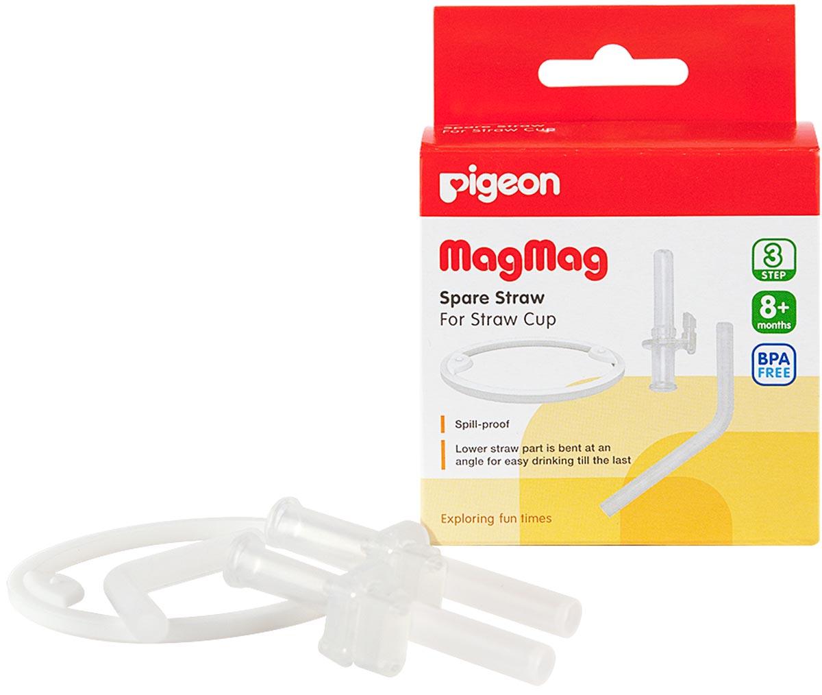 В случае необходимости замены трубочки силиконовой или кольца-прокладки для чашки-поильника MagMag воспользуйтесь запасным комплектом! В комплект запасной входит: Запасная трубочка силиконовая (верхняя часть) – 2 шт. Запасная трубочка силиконовая (нижняя часть) – 1 шт. Кольцо-прокладка – 1 шт.