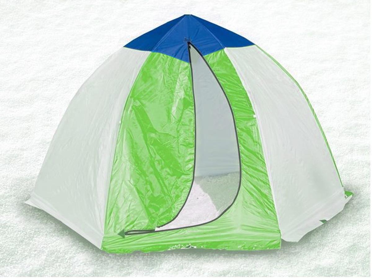 Палатка рыбака Стэк Классика, 3-местная35863Полуавтоматическая палатка рыбака Стэк Классика станет полезным приобретением для любителей рыбалки, особенно в зимнее время года. Каркас палатки состоит из 6 алюминиевых лучей, собранных на автоматике. Шестилучевая конструкция зонтичного типа обладает высокой ветроустойчивостью. Преимуществом подобной конструкции является чрезвычайная мобильность. Открыть и установить палатку по времени занимает не больше 30 секунд, демонтаж и укладка в чехол занимают примерно столько же времени. Тент палатки изготовлен из синтетической водостойкой ткани 150 Neylon Oxford. В верхней части купола палатки имеется вентиляционное окно на молнии. Вход в палатку закрывается мощной молнией. Встречные замки дают возможность приоткрыть молнию для вентиляции в любом месте. На внутренней поверхности тента есть карманы для различных мелочей. Палатка снабжена специальной юбкой, устраняющей продувание по низу. Крепление рыболовной палатки ко льду производится растяжками от дуг каркаса. Размер в собранном виде: 220 х 270 х 160 см. Размер в разобранном виде (в чехле): 115 х 20 х 20 см.