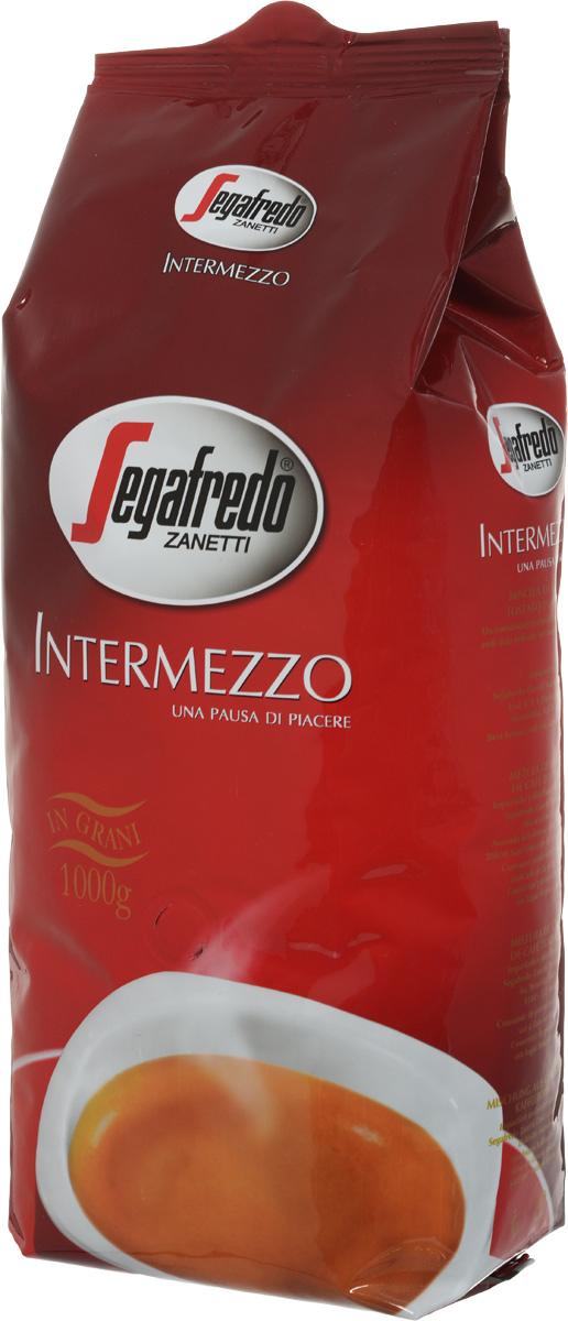 Segafredo Intermezzo кофе в зернах, 1 кг0120710Segafredo Intermezzo - это характерное для кофе сочетание полноты вкуса и энергии, что делает каждый момент дня более приятным, от утреннего завтрака до перерыва, во время которого вы можете насладиться этим качественным кофе.