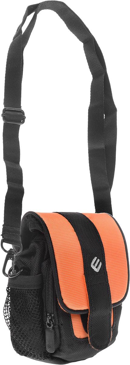 Сумка для фотокамеры Era Pro, цвет: черный, оранжевый era pro ep 010901 black red чехол для фотокамеры