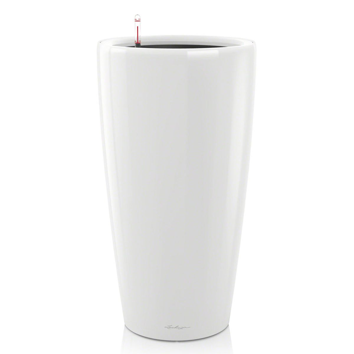 Кашпо Lechuza Rondo, с системой автополива, цвет: белый, диаметр 32 смМ 3225Кашпо Lechuza Rondo, изготовленное из высококачественного пластика, идеальное решение для тех, кто регулярно забывает поливать комнатные растения. Стильный дизайн позволит украсить растениями офис, кафе или любое другое помещение. Кашпо Lechuza Rondo с системой автополива упростит уход за вашими цветами и поможет растениям получать то количество влаги, которое им необходимо в данный момент времени.В набор входит: кашпо, внутренний горшок, индикатор уровня воды, вал подачи воды, субстрат растений в качестве дренажного слоя, резервуар для воды.Внутренний горшок, оснащенный выдвижными ручками, обеспечивает:- легкую переноску даже высоких растений;- легкую смену растений;- можно также просто убрать растения на зиму;- винт в днище позволяет стечь излишней дождевой воде наружу.Кашпо Lechuza Rondo украсит любой интерьер и станет замечательным подарком для ваших родных и близких.