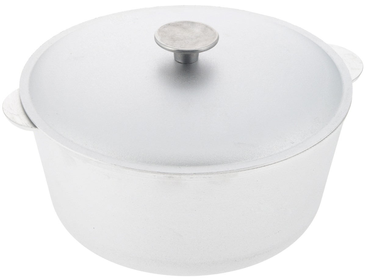 Кастрюля Биол с крышкой, 5 л. К050068/5/3Кастрюля Биол, выполненная из высококачественного литого алюминия, оснащена крышкой. Изделие имеет утолщенное дно. Посуда равномерно распределяет тепло и обладает высокой устойчивостью к деформации, легкая и практичная в эксплуатации, обладает долгим сроком службы. Подходит для использования на электрических, газовых и стеклокерамических плитах. Не подходит для индукционных плит. Диаметр кастрюли (по верхнему краю): 26 см. Высота стенки кастрюли: 12 см. Ширина кастрюли (с учетом ручек): 30,2 см.