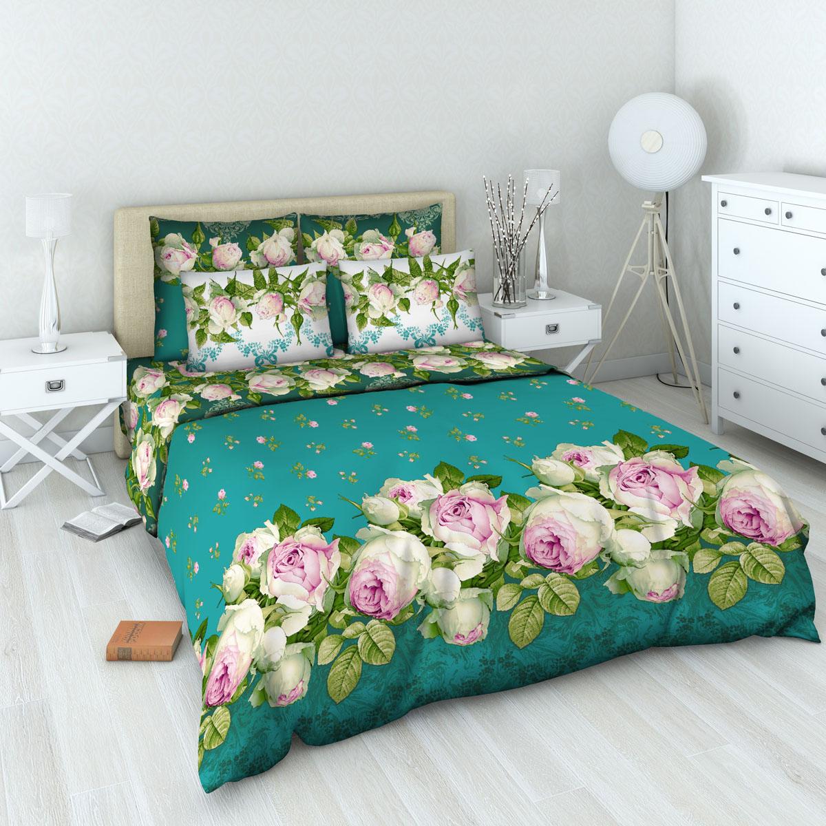 Комплект белья Василиса Французский аромат, 1,5-спальный, наволочки 70х7010503Комплект постельного белья Василиса Французский аромат состоит из пододеяльника, простыни и двух наволочек. Дизайн - цветочный. Белье изготовлено из бязи (100% хлопка) - гипоаллергенного, экологичного, высококачественного, крупнозакрученного волокна, благодаря чему эта ткань мягкая, нежная на ощупь и очень прочная, не образует катышков на поверхности. При соблюдении рекомендаций по уходу, это белье выдерживает много стирок (более 70), не линяет и не теряет свою первоначальную прочность. Уникальная ткань обеспечивает легкую глажку.Приобретая комплект постельного белья Василиса Французский аромат, вы можете быть уверенны в том, что покупка доставит вам удовольствие и подарит максимальный комфорт.