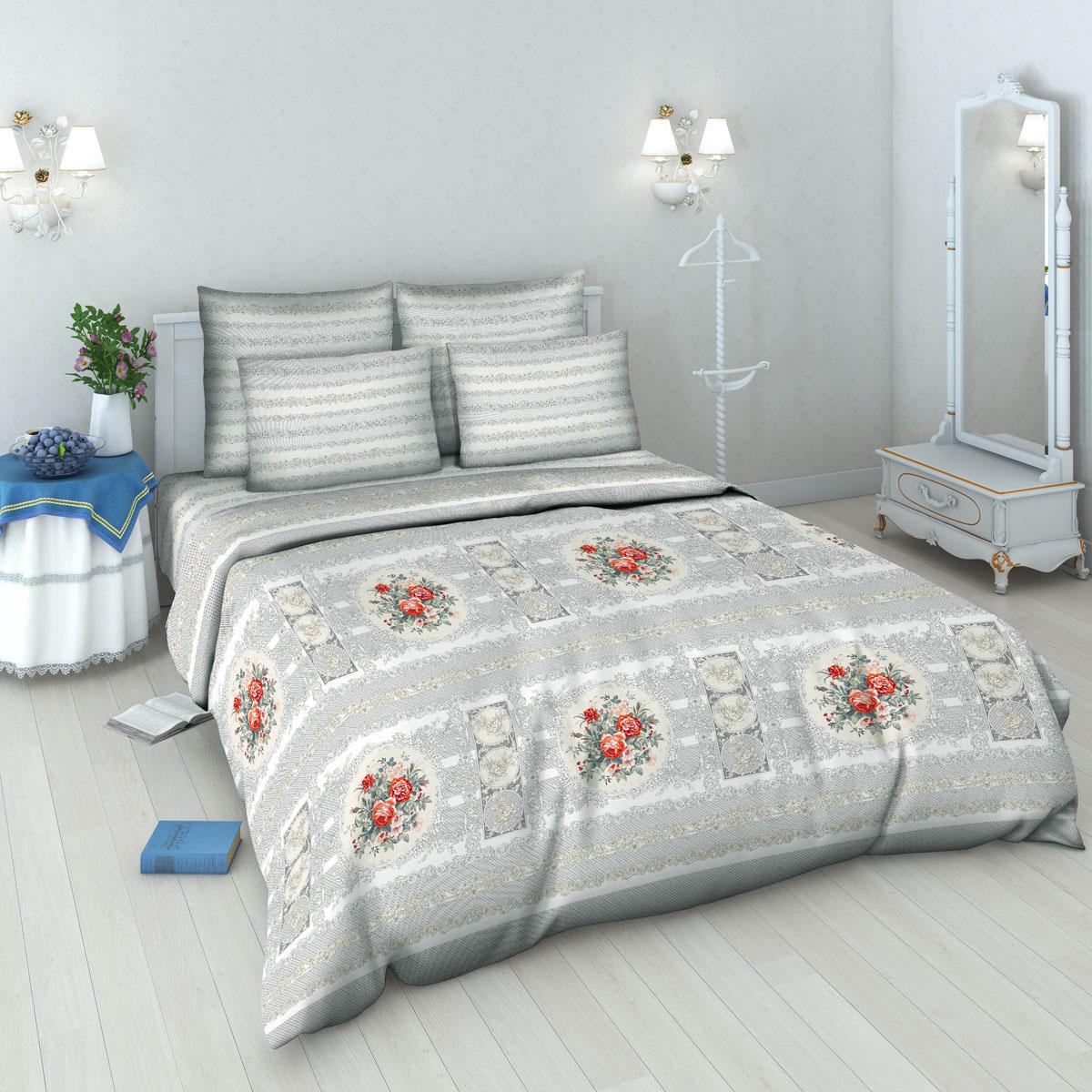 Комплект белья Василиса, 2-спальный, наволочки 70х70. 5378_1/2180088Комплект постельного белья Василиса состоит из пододеяльника, простыни и двух наволочек. Белье производится из высококачественной бязи (100% хлопка).Использование особо тонкой пряжи делает ткань мягче на ощупь, обеспечивает легкое глажение и позволяет передать всю насыщенность цветовой гаммы. Благодаря более плотному переплетению нитей и использованию высококачественных импортных красителей постельное белье выдерживает до 70 стирок.Приобретая комплект постельного белья Василиса, вы можете быть уверены в том, что покупка доставит вам удовольствие и подарит максимальный комфорт.