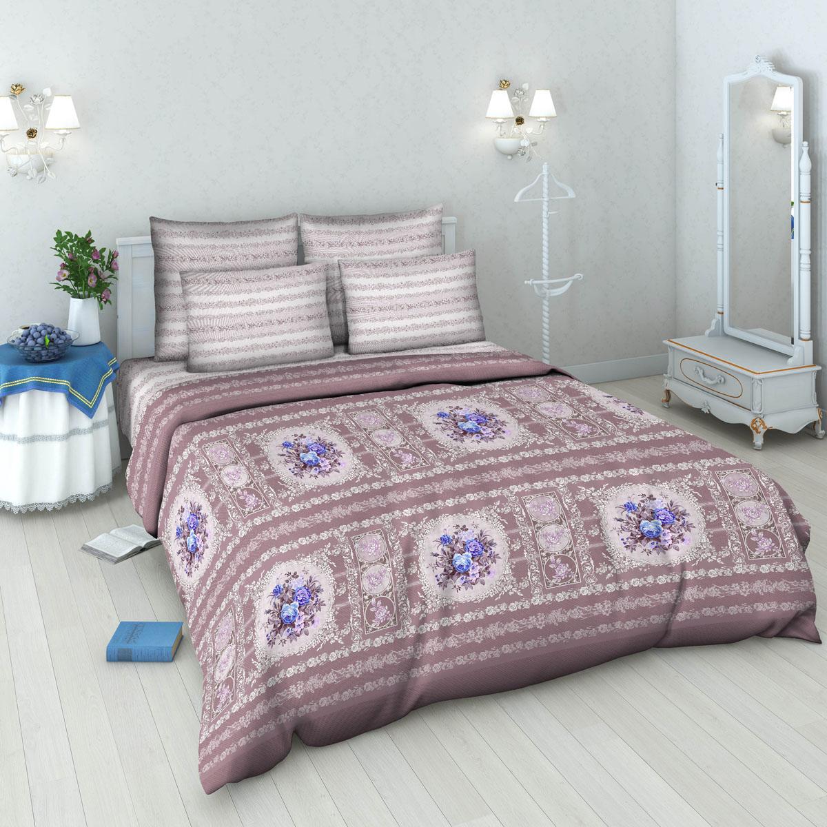 Комплект белья Василиса, 1,5-спальный, наволочки 70х70. 5378_2/1,568/5/3Комплект постельного белья Василиса состоит из пододеяльника, простыни и двух наволочек. Белье производится из высококачественной бязи (100% хлопка).Использование особо тонкой пряжи делает ткань мягче на ощупь, обеспечивает легкое глажение и позволяет передать всю насыщенность цветовой гаммы. Благодаря более плотному переплетению нитей и использованию высококачественных импортных красителей постельное белье выдерживает до 70 стирок.Приобретая комплект постельного белья Василиса, вы можете быть уверены в том, что покупка доставит вам удовольствие и подарит максимальный комфорт.