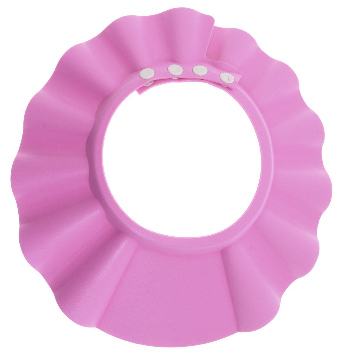 Bradex Козырек для мытья головы Купаемся без слез цвет розовый -  Контейнеры для игрушек, ковши