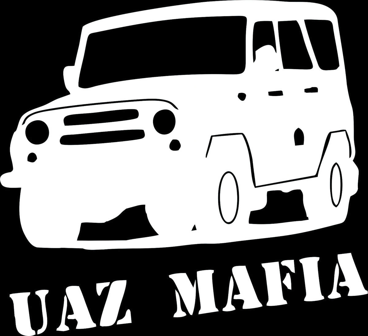 Наклейка автомобильная Оранжевый слоник UAZ Mafia 2, виниловая, цвет: белыйВетерок 2ГФОригинальная наклейка Оранжевый слоник UAZ Mafia 2 изготовлена из высококачественной виниловой пленки, которая выполняет не только декоративную функцию, но и защищает кузов автомобиля от небольших механических повреждений, либо скрывает уже существующие.Виниловые наклейки на автомобиль - это не только красиво, но еще и быстро! Всего за несколько минут вы можете полностью преобразить свой автомобиль, сделать его ярким, необычным, особенным и неповторимым!
