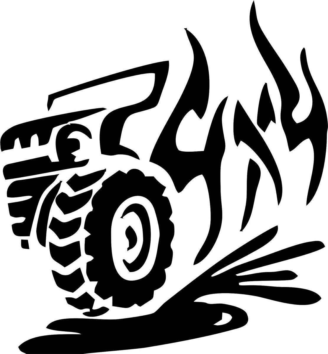 Наклейка автомобильная Оранжевый слоник 4х4. Джип, виниловая, цвет: черныйCA-3505Оригинальная наклейка Оранжевый слоник 4х4. Джип изготовлена из высококачественной виниловой пленки, которая выполняет не только декоративную функцию, но и защищает кузов автомобиля от небольших механических повреждений, либо скрывает уже существующие.Виниловые наклейки на автомобиль - это не только красиво, но еще и быстро! Всего за несколько минут вы можете полностью преобразить свой автомобиль, сделать его ярким, необычным, особенным и неповторимым!