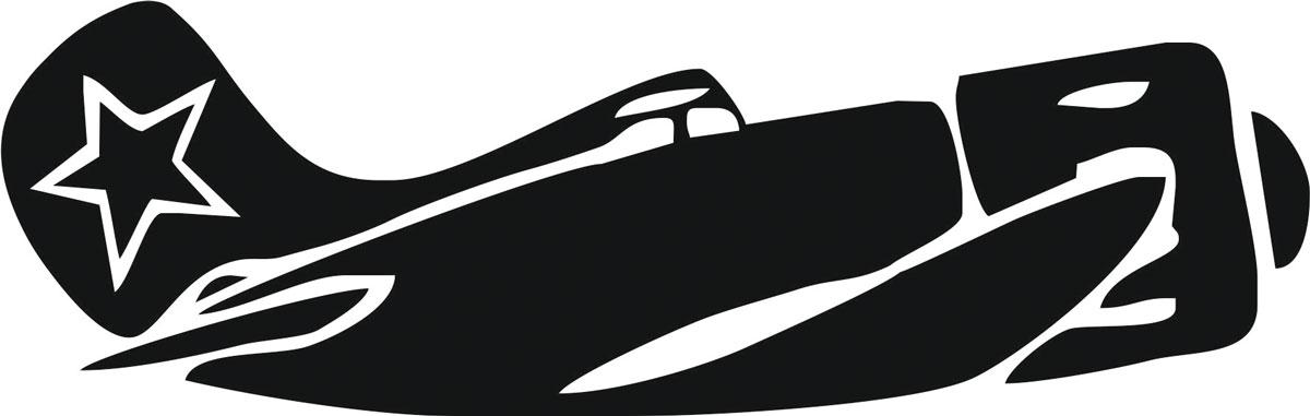 Наклейка автомобильная Оранжевый слоник Самолет, виниловая, цвет: черный238000Оригинальная наклейка Оранжевый слоник Самолет изготовлена из высококачественной виниловой пленки, которая выполняет не только декоративную функцию, но и защищает кузов автомобиля от небольших механических повреждений, либо скрывает уже существующие.Виниловые наклейки на автомобиль - это не только красиво, но еще и быстро! Всего за несколько минут вы можете полностью преобразить свой автомобиль, сделать его ярким, необычным, особенным и неповторимым!