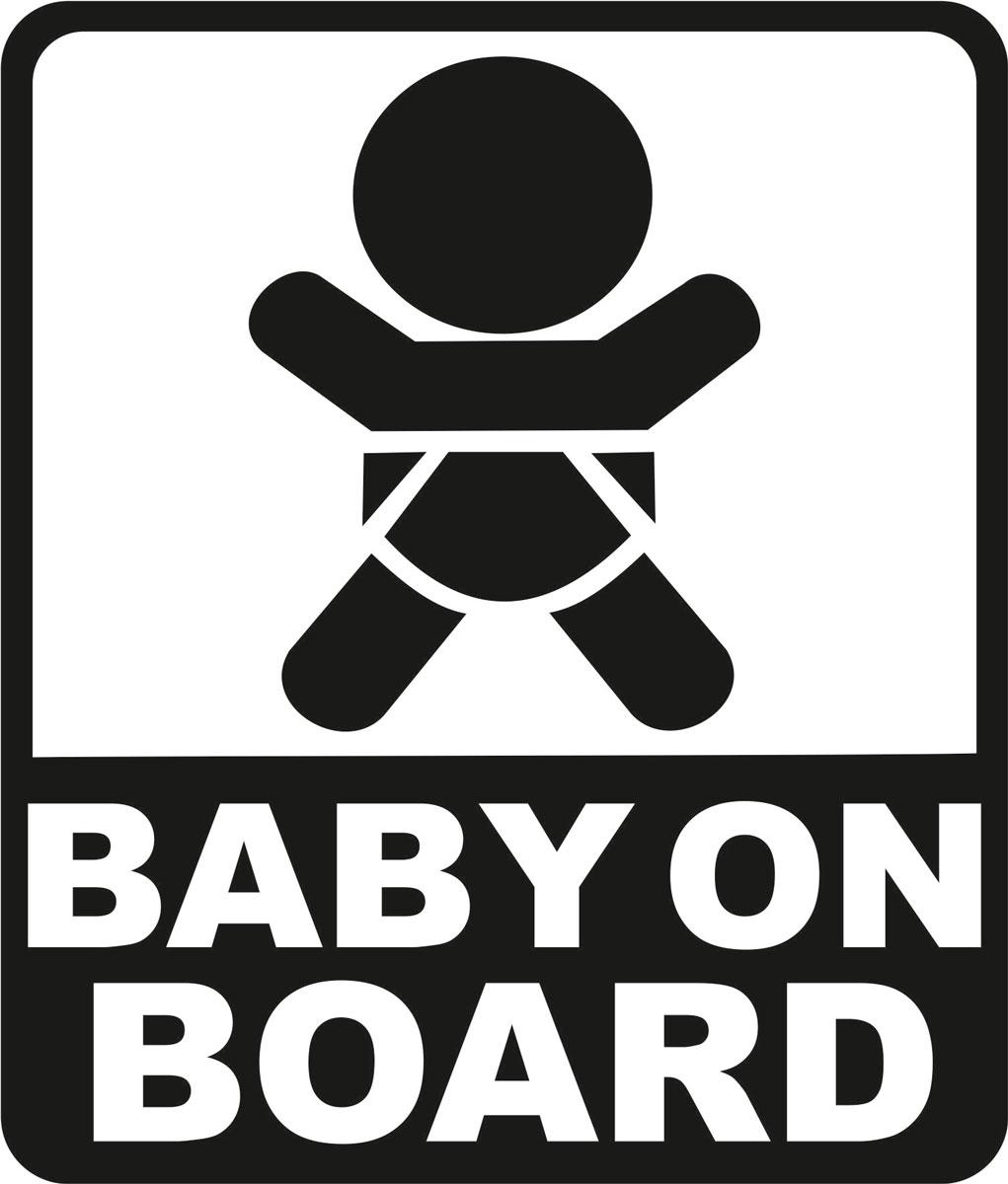 Наклейка автомобильная Оранжевый слоник Baby on Board. Квадрат, виниловая, цвет: черныйCA-3505Оригинальная наклейка Оранжевый слоник Baby on Board. Квадрат изготовлена из долговечного винила, который выполняет не только декоративную функцию, но и защищает кузов от небольших механических повреждений, либо скрывает уже существующие.Виниловые наклейки на авто - это не только красиво, но еще и быстро! Всего за несколько минут вы можете полностью преобразить свой автомобиль, сделать его ярким, необычным, особенным и неповторимым!