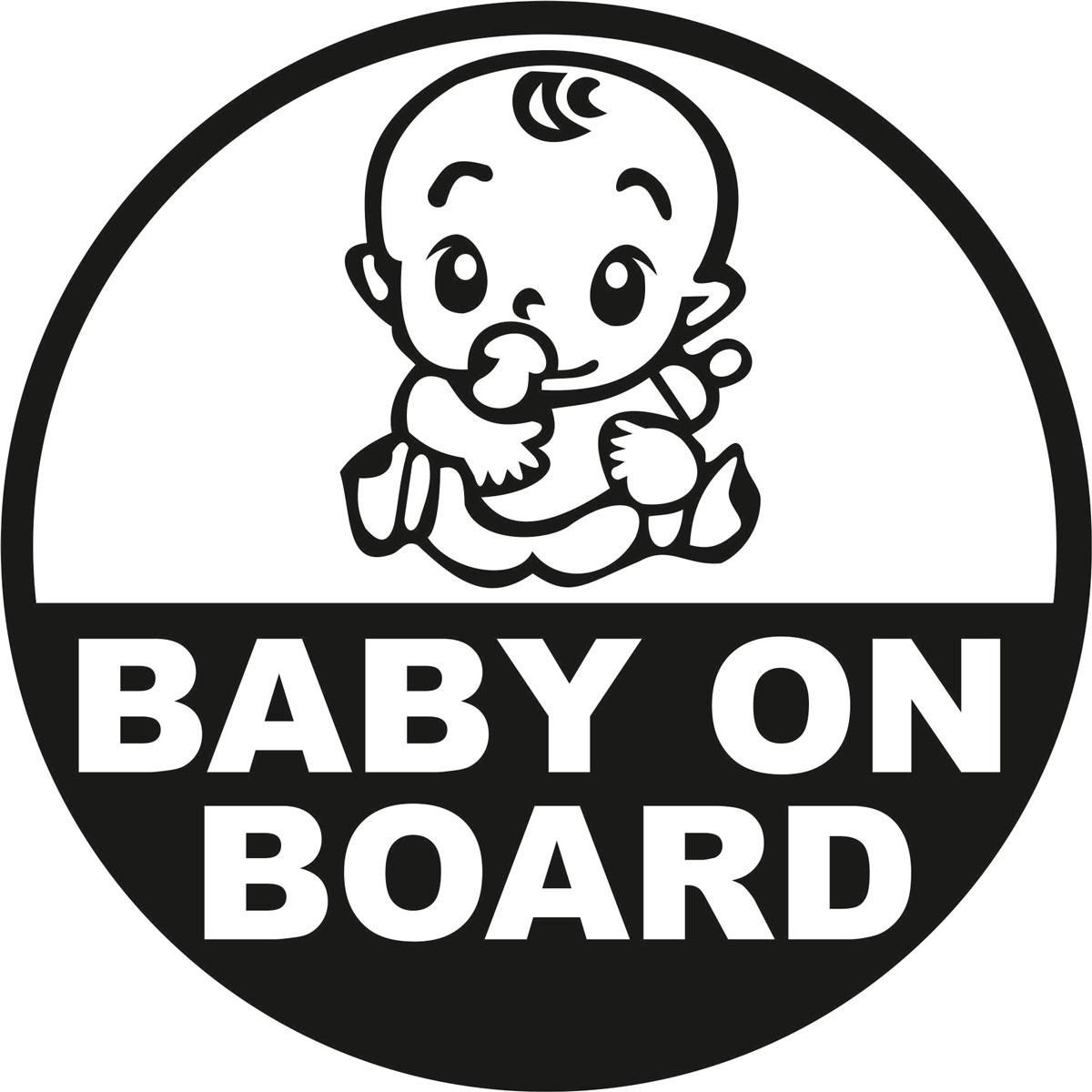 Наклейка автомобильная Оранжевый слоник Baby on Board. Круг 2, виниловая, цвет: черныйWT-CD37Оригинальная наклейка Оранжевый слоник Baby on Board. Круг 2 изготовлена из долговечного винила, который выполняет не только декоративную функцию, но и защищает кузов от небольших механических повреждений, либо скрывает уже существующие.Виниловые наклейки на авто - это не только красиво, но еще и быстро! Всего за несколько минут вы можете полностью преобразить свой автомобиль, сделать его ярким, необычным, особенным и неповторимым!