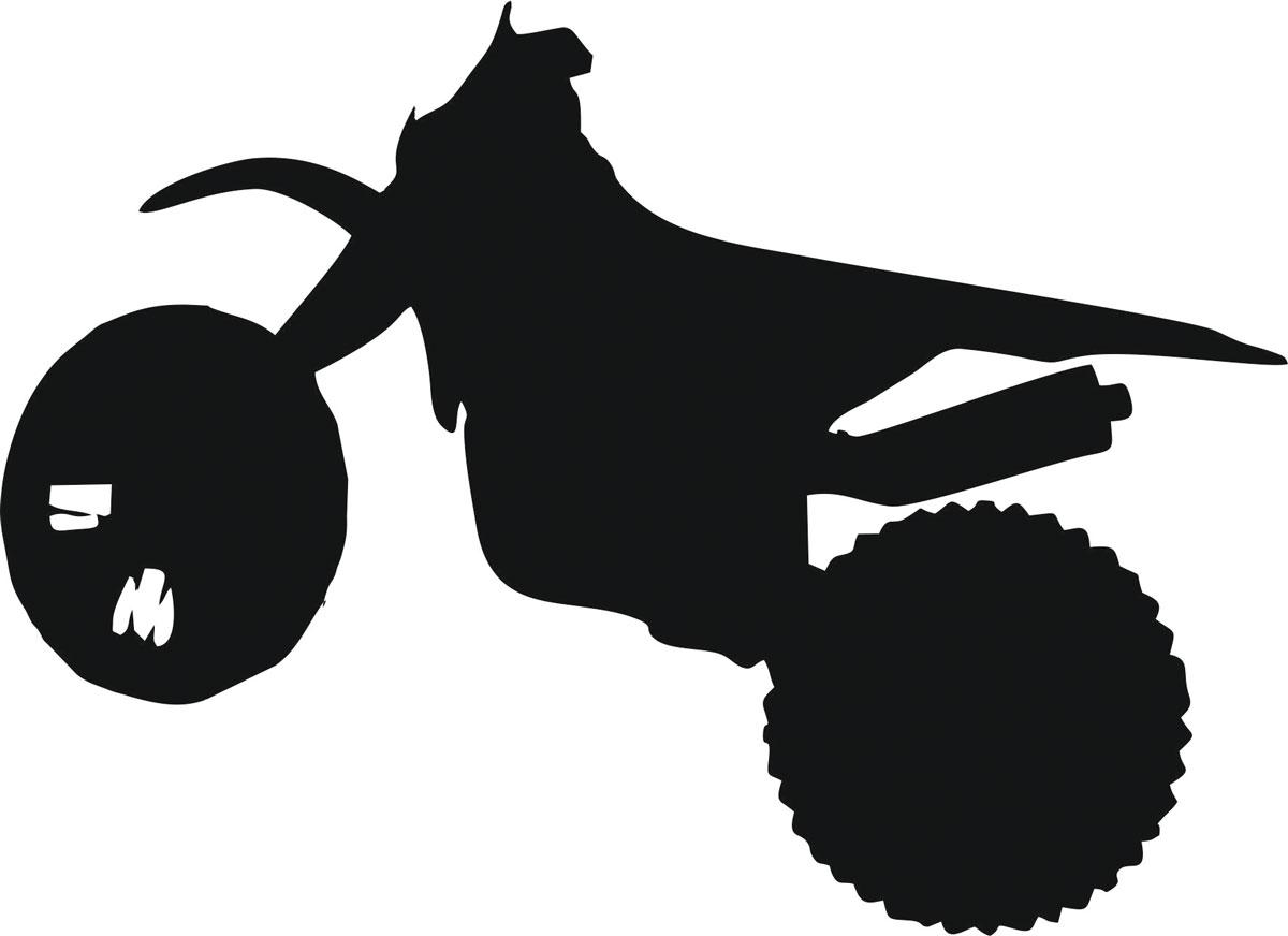 Наклейка автомобильная Оранжевый слоник Мотоцикл 11, виниловая, цвет: черныйВетерок 2ГФОригинальная наклейка Оранжевый слоник Мотоцикл 11 изготовлена из высококачественной виниловой пленки, которая выполняет не только декоративную функцию, но и защищает кузов автомобиля от небольших механических повреждений, либо скрывает уже существующие.Виниловые наклейки на автомобиль - это не только красиво, но еще и быстро! Всего за несколько минут вы можете полностью преобразить свой автомобиль, сделать его ярким, необычным, особенным и неповторимым!