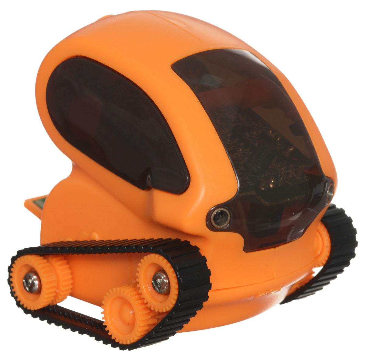 DeskPets Микро-робот на радиоуправлении Танкбот цвет оранжевый
