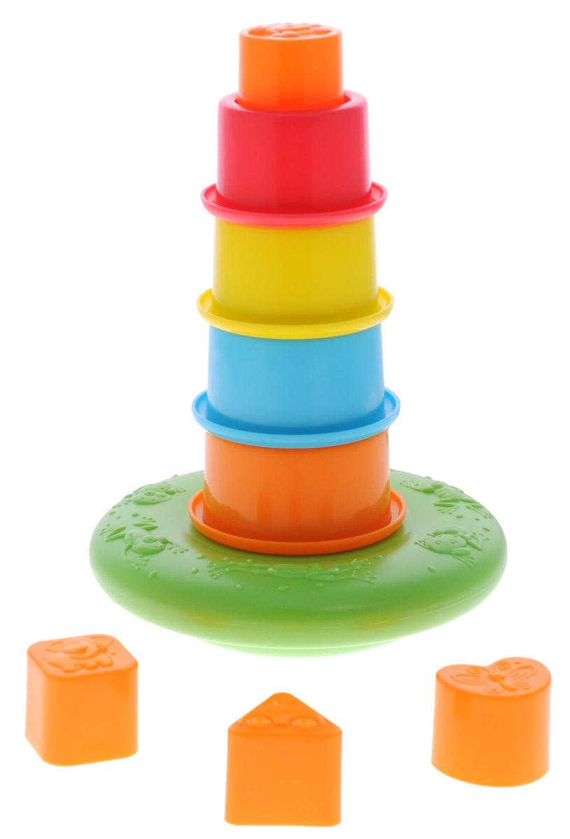 Playgo Пирамидка Плавающая башня пирамидка из пластика