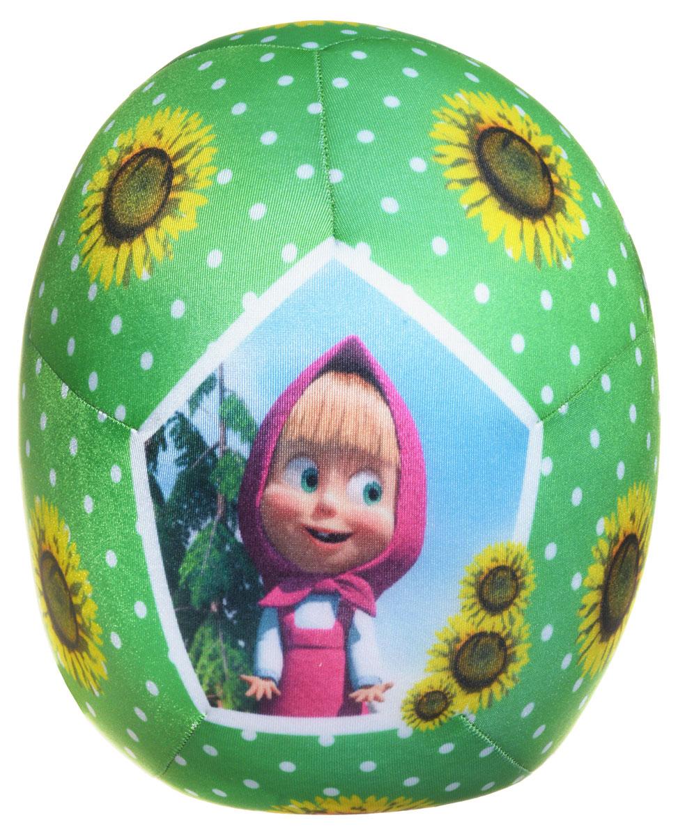СмолТойс Мягкая игрушка-антистресс Маша и Медведь цвет зеленый  смолтойс мяч антистресс маша и медведь