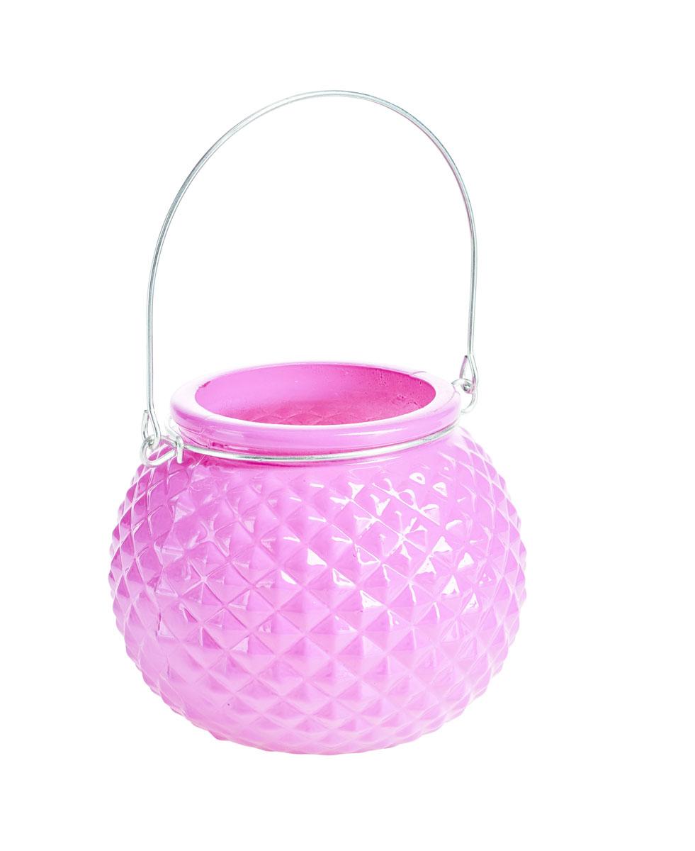 Подсвечник подвесной Gardman Honey Pot. Diamond, цвет: розовый, 8,5 смRG-D31SДекоративный подсвечник Gardman Honey Pot. Diamond, изготовленный из высококачественного стекла, позволит украсить интерьер дома или рабочего кабинета оригинальным образом. Вы можете поставить или подвесить подсвечник в любом месте, где он будет удачно смотреться и радовать глаз. Кроме того - это отличный вариант подарка для ваших близких и друзей.