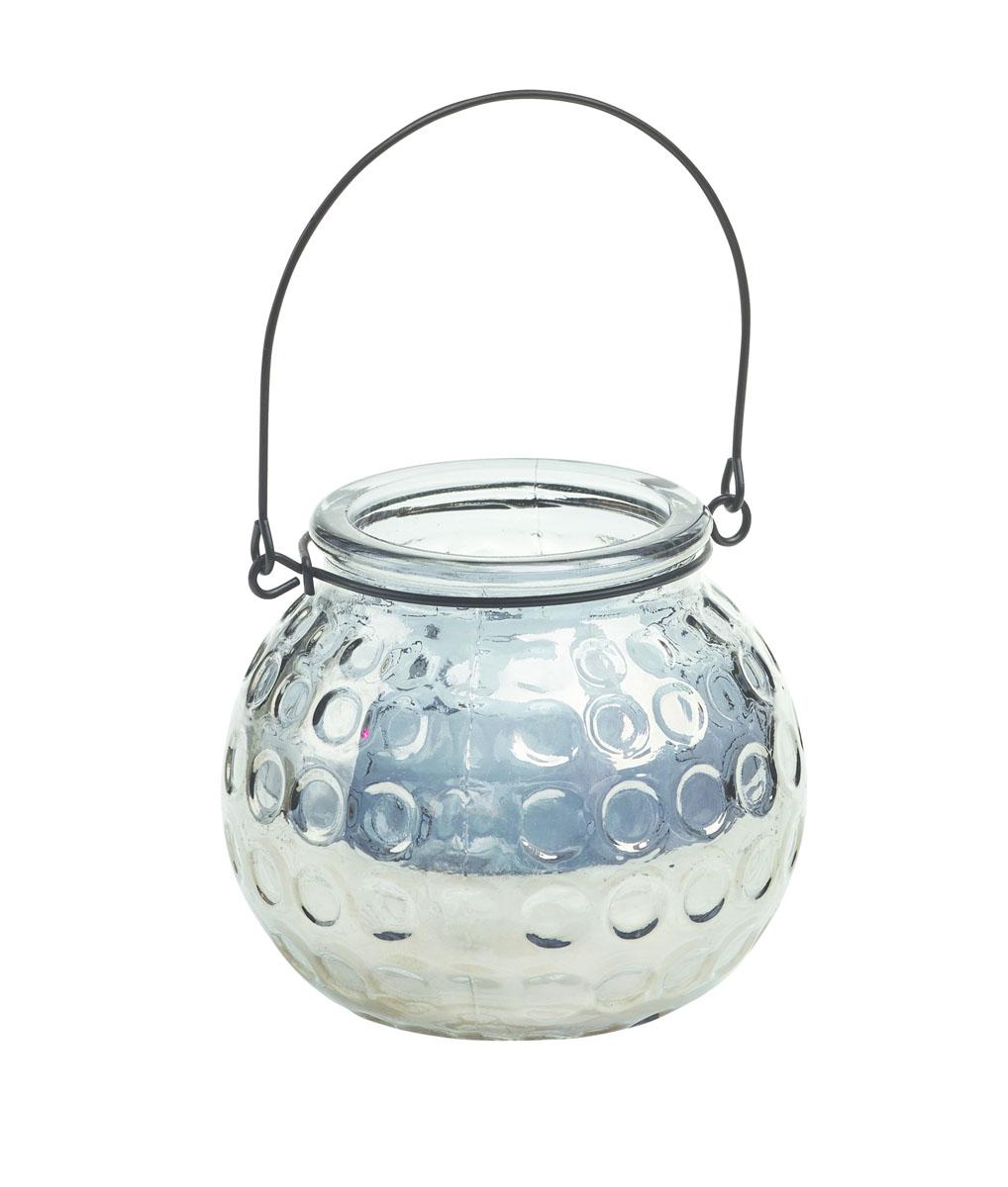 Подсвечник подвесной Gardman Honey Pot, цвет: серебристый, 8,5 смRG-D31SДекоративный подсвечник Gardman Honey Pot, изготовленный из высококачественного стекла, позволит украсить интерьер дома или рабочего кабинета оригинальным образом. Вы можете поставить или подвесить подсвечник в любом месте, где он будет удачно смотреться и радовать глаз. Кроме того - это отличный вариант подарка для ваших близких и друзей.