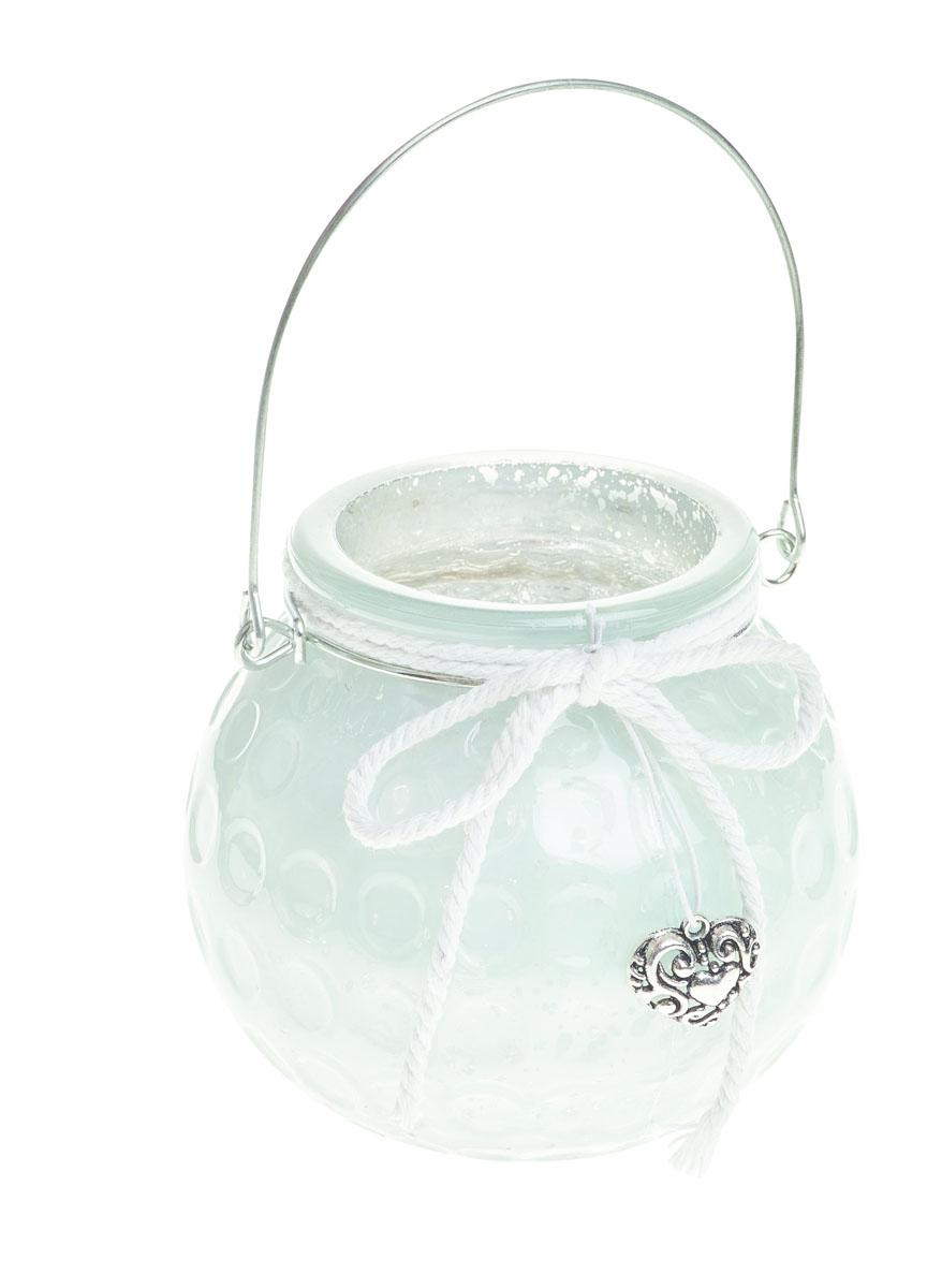 Подсвечник подвесной Gardman Honey Pot, цвет: белый, 8,5 см12723Декоративный подсвечник Gardman Honey Pot изготовлен из высококачественного стекла с металлической фольгой внутри. Он позволит украсить интерьер дома или рабочего кабинета оригинальным образом. Вы можете поставить или подвесить подсвечник в любом месте, где он будет удачно смотреться и радовать глаз. Кроме того - это отличный вариант подарка для ваших близких и друзей.