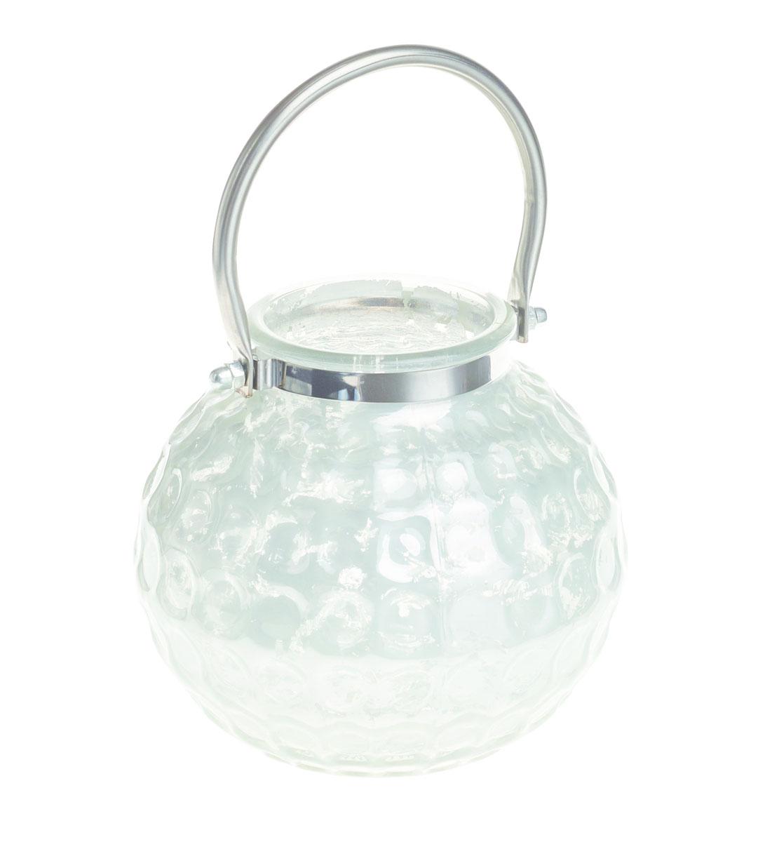 Подсвечник Gardman Honey Pot. Medium, цвет: белый, 13 смFS-91909Декоративный подсвечник Gardman Honey Pot. Medium изготовлен из высококачественного стекла с металлической фольгой внутри. Он позволит украсить интерьер дома или рабочего кабинета оригинальным образом. Вы можете поставить или подвесить подсвечник в любом месте, где он будет удачно смотреться и радовать глаз. Кроме того - это отличный вариант подарка для ваших близких и друзей.