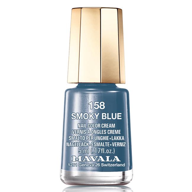 Mavala Лак для ногтей Морская синева Smokey Blue , Тон 158, 5 мл4210201746348Лаки для ногтей Mavala представлены классическими и ультрамодными оттенками. Они пропускают воздух даже через 3-4 слоя, давая возможность ногтям дышать. Специально разработанный состав лаков позволяет им оставаться свежими и насыщенными долгое время. Лаки не содержат толуол, формальдегид, камфору, дибутил фталат, канифоль и добавленный никель.