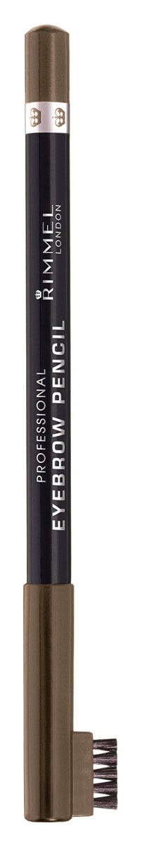 Rimmel Карандаш для бровей С Щеточкой `Professional Eyebrow Pencil` Re-pack 002 тон(hazel),5,2 мл34007209002Мягкая формула для легкого нанесения. Натуральные оттенки для идеального макияжа бровей. Удобная щеточка-расческа подготавливает брови для использования карандаша, а затем облегчает равномерное распределение цвета.