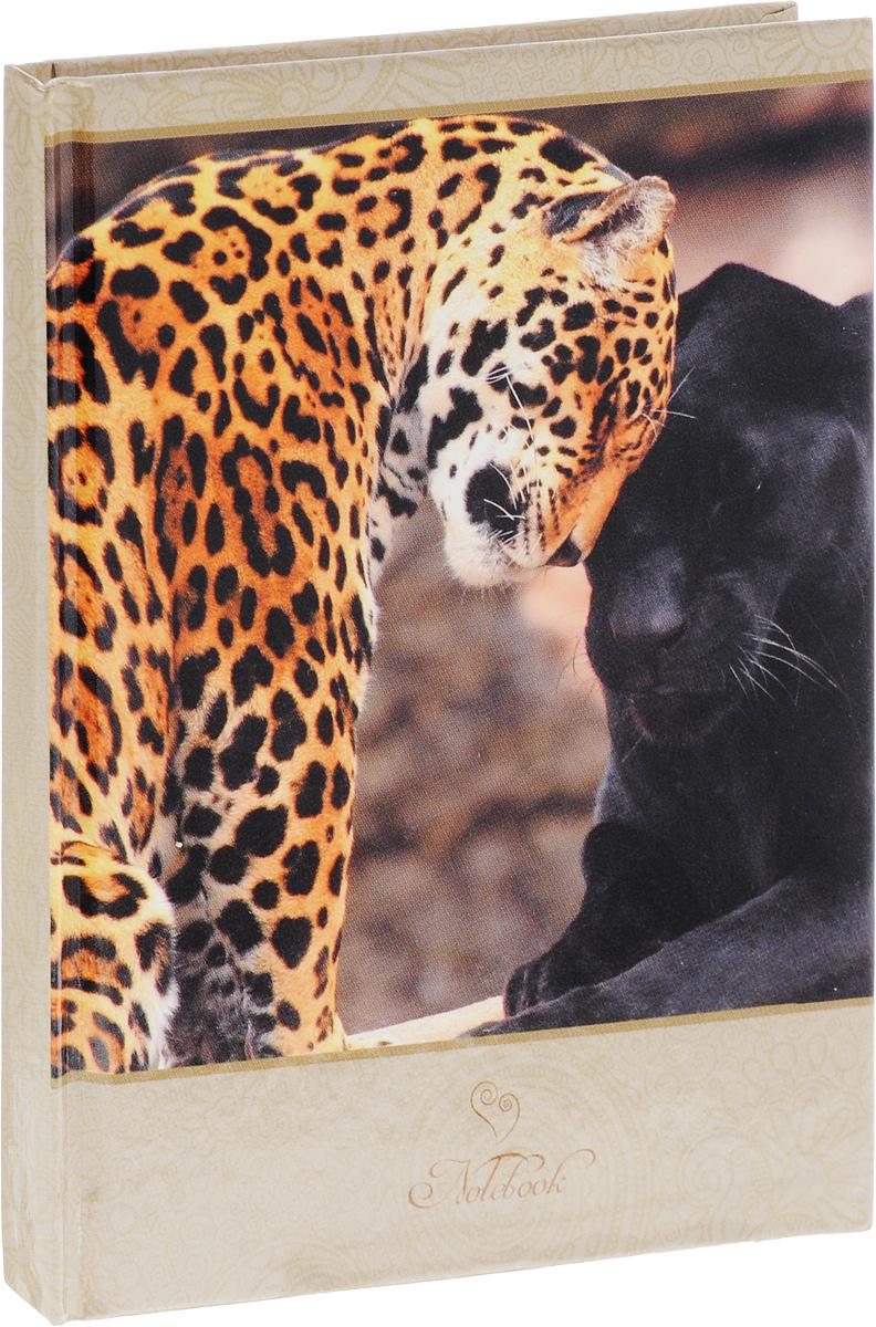 Listoff Записная книжка Дикие кошки 80 листов в клетку80ББп6B1_12821Записная книжка Listoff Дикие кошки придаст вам индивидуальность и визуальную притягательность.Записные книжки призваны хранить в себе важную информацию на долгое время, поэтому нужно обязательно позаботиться, чтобы она была удобной для постоянного ношения с собой, стильной - потому что, на этот аксессуар обязательно обратят внимание окружающие.Записная книжка содержит 80 листов формата А6 в клетку без полей. Обложка, выполненная из ламинированного картона, оформлена изображением леопарда и пантеры. Внутренний блок изготовлен из высококачественной белой бумаги, что гарантирует чистоту записей и отсутствие клякс.Книга для записей Listoff станет достойным аксессуаром среди ваших канцелярских принадлежностей. Она подойдет как для деловых людей, так и для любителей записывать свои мысли, рисовать скетчи, делать наброски.